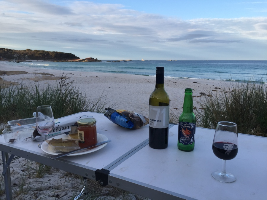 Ten Days Tasting Tasmania: Bicycles and Beaches